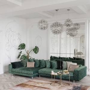 モスグリーンのソファ