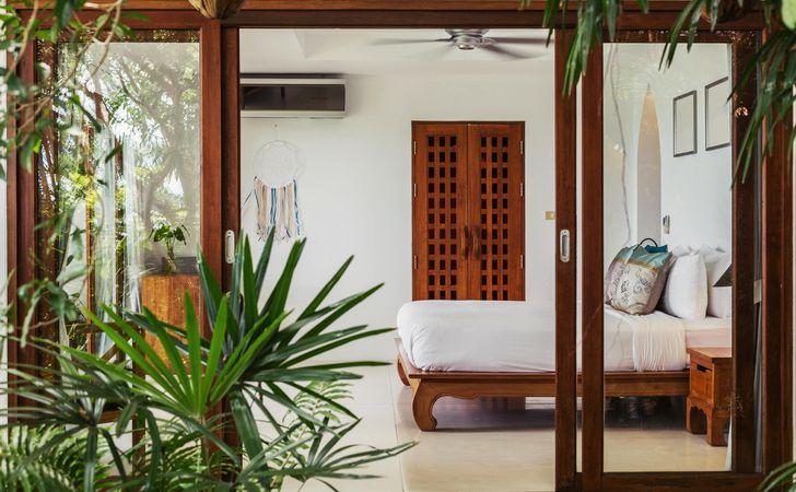 ハワイアンインテリアコーディネートの部屋