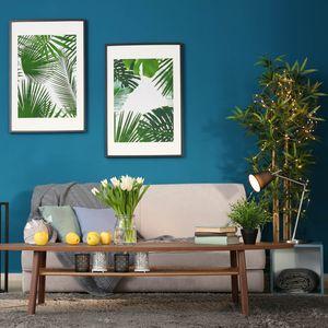 植物とハワイアンインテリア